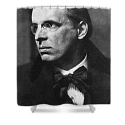 William Butler Yeats Shower Curtain
