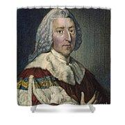 William Pitt (1708-1778) Shower Curtain