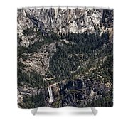 602 Det  American Falls Shower Curtain