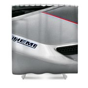 6.1 Hemi - 2011 Dodge Challenger Srt8 Shower Curtain