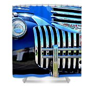 64 Chevy Grill Shower Curtain