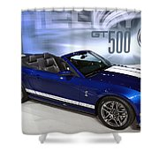 650 Horses On 4 Wheels Shower Curtain
