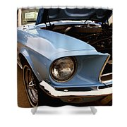 67 Mustang Hcs Shower Curtain