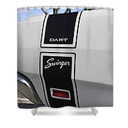 69 Dart Swinger Shower Curtain