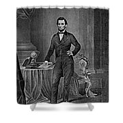 Abraham Lincoln, 16th American President Shower Curtain