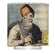 Archimedes (287?-212 B.c.) Shower Curtain