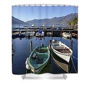 Ascona - Lake Maggiore Shower Curtain