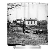 Civil War: Bull Run, 1861 Shower Curtain