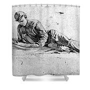 Civil War: Soldier Shower Curtain