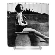 Clara Bow (1905-1965) Shower Curtain by Granger