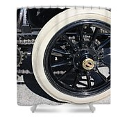 Classic Antique Car- Detail Shower Curtain