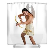 Cupid The God Of Desire Shower Curtain