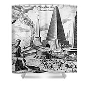 Egypt: Cheops Pyramid Shower Curtain