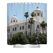 El Pueblo De Los Angeles Shower Curtain