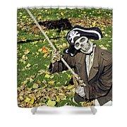 Fall  Halloween On Tillson Street Shower Curtain