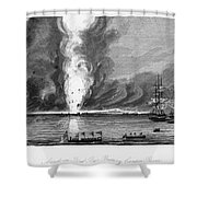 First Opium War, 1841 Shower Curtain