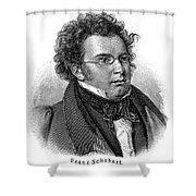 Franz Schubert (1797-1828) Shower Curtain