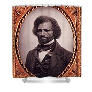 Frederick Douglass African-american Shower Curtain by Photo Researchers