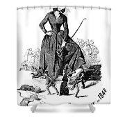 George Sand (1804-1876) Shower Curtain