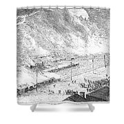 Great Railroad Strike, 1877 Shower Curtain