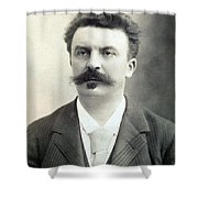Guy De Maupassant Shower Curtain