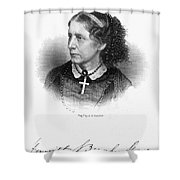 Harriet Beecher Stowe Shower Curtain
