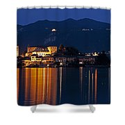 Island Of San Giulio Shower Curtain by Joana Kruse