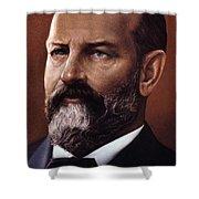 James A. Garfield (1831-1881) Shower Curtain