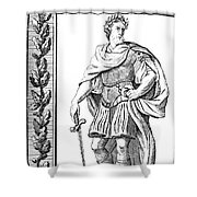 Julius Caesar (100 B.c.-44 B.c.) Shower Curtain