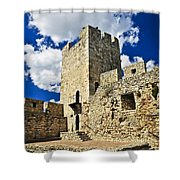 Kalemegdan Fortress In Belgrade Shower Curtain