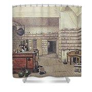 Michael Faraday, English Physicist Shower Curtain