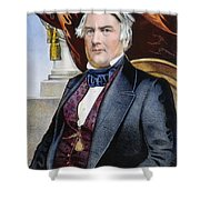 Millard Fillmore (1800-1874) Shower Curtain