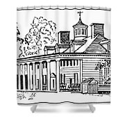 Mount Vernon Shower Curtain