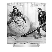 Presidential Campaign: 1864 Shower Curtain