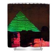 Pyramids Of Giza Shower Curtain