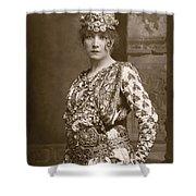 Sarah Bernhardt (1844-1923) Shower Curtain
