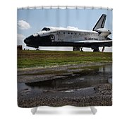 Space Shuttle Discovery Shower Curtain