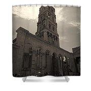 Split Old Town Shower Curtain