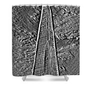 The Shard Shower Curtain