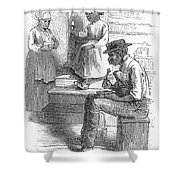 Tobacco Factory, C1880 Shower Curtain
