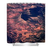 Western United States Shower Curtain