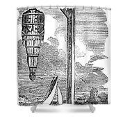 William Kidd (c1645-1701) Shower Curtain