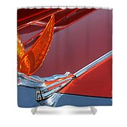 75 Caddy Emblem 7848 Shower Curtain