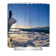 Alaska, Juneau Shower Curtain