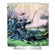 American Civil War, Battle Shower Curtain