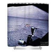 Apollo Mission 17 Shower Curtain