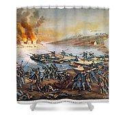 Battle Of Fredericksburg Shower Curtain