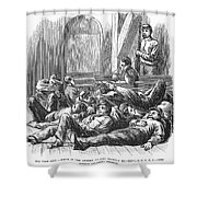 Great Railroad Strike, 1877 Shower Curtain