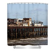 Hastings Pier Shower Curtain