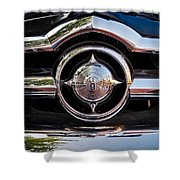 8 In Chrome Shower Curtain